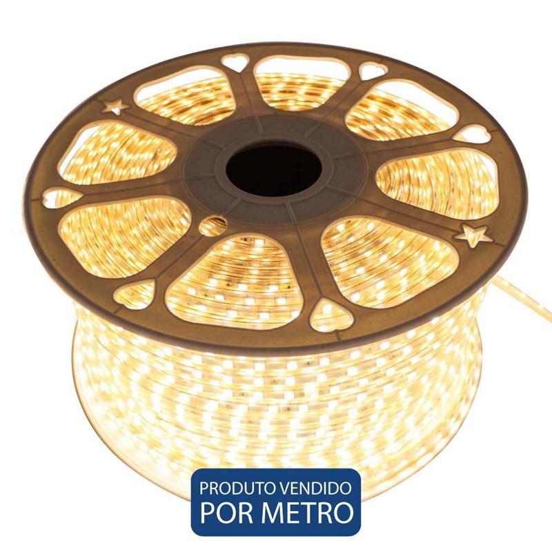 Fita LED Luz Amarela IP-65 Jikatec