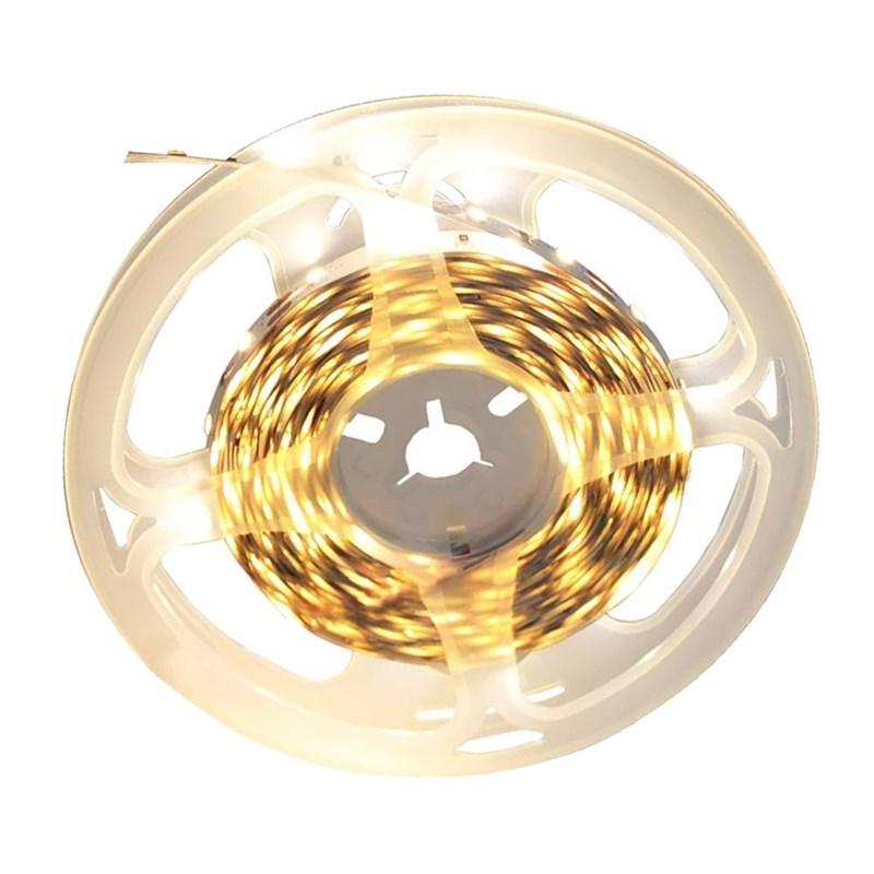 Fita LED Luz Branco Quente IP-20 12W 5 Metros 12V Eletrorastro