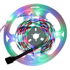 Fita LED RGB 5 Metros 12V IP20 C/ Controle Eletrorastro