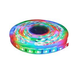 Fita LED RGB IP-20 com Controle 4,8W 5 Metros 12V Power XL
