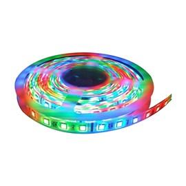 Fita LED RGB IP-65 com Controle 12W 5 Metros 12V Bella Led