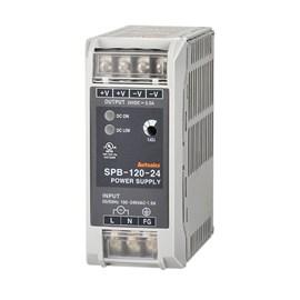 Fonte Chaveada 24VCC 5A SPB-120-24 120W para Trilho Din Autonics