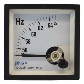 Frequencímetro Quadrado 72X72mm Com Ponteiro JNG