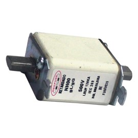 Fusível NH000 Ultra Rápido 125A 500V 120kA Dekfuse