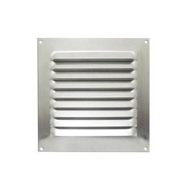 Grade de Ventilação Quadrada 130x130mm GRA-070 Alumínio Otam
