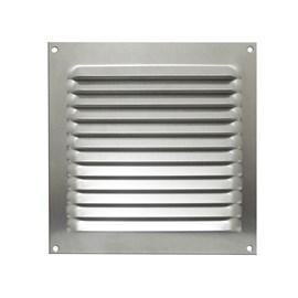 Grade de Ventilação Quadrada 165x165mm GRA-100 Alumínio Otam