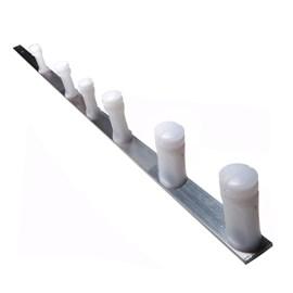 Haste Estrela para Cerca Elétrica 1m 6 Isoladores Omegasat