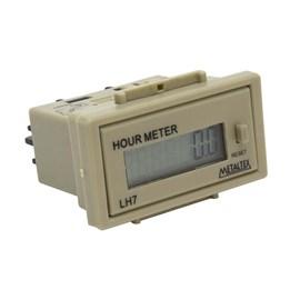 Horímetro LH7-HA 90-240VCA Pulso Tensão Digital Metaltex
