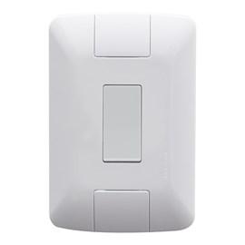 Interruptor Aria 1 Tecla Simples 4x2 com Placa Branco Tramontina