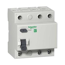 Interruptor Diferencial Residual 3 Pólos 40A 30MA Schneider