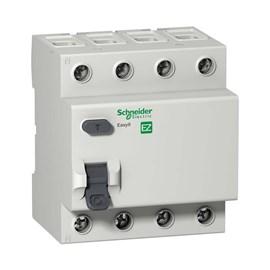 Interruptor Diferencial Residual 4 Pólos 63A 30MA Schneider