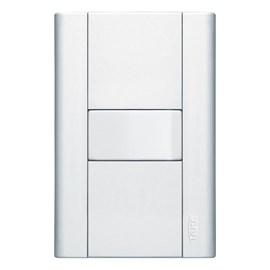 Interruptor Paralelo 10A 4X2 1 Tecla Branco Modulare Fame