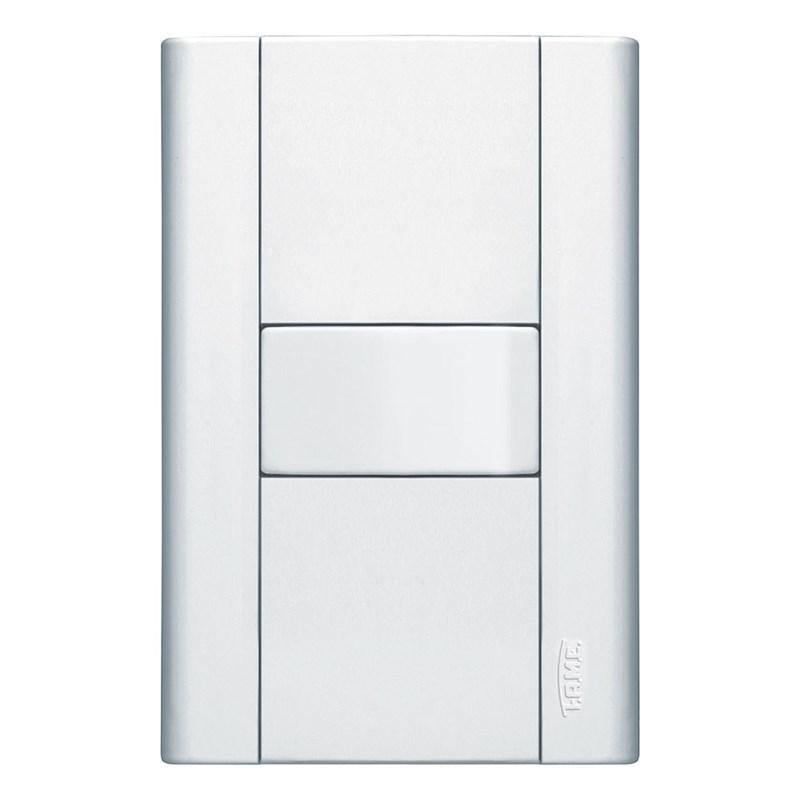 Interruptor Simples 10A 4X2 1 Tecla Branco Modulare Fame
