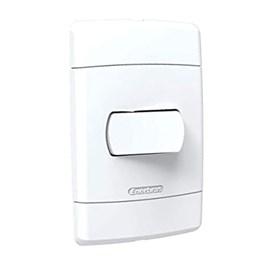 Interruptor Simples 10A 4X2 1 Tecla Branco Neo Sottile Enerbras