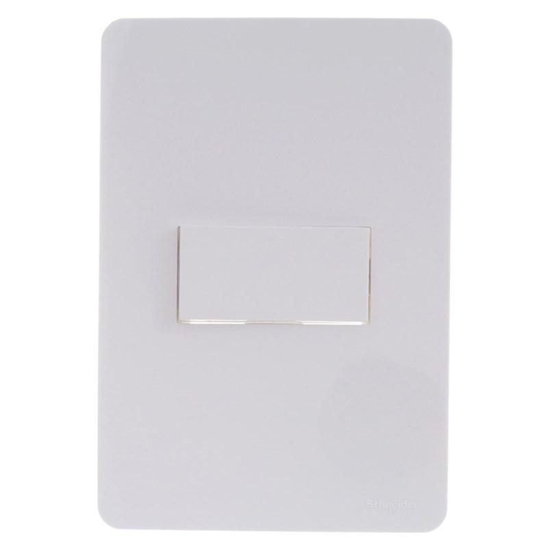 Interruptor Simples 20A 4x2 1 Tecla Branco Orion Schneider