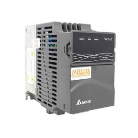 Inversor de Frequência Trifásico 1.0HP 220V VFD007E21A Monofásico/Trifásico Vetorial Metaltex