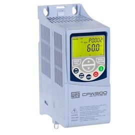 Inversor de Frequência Vetorial Trifásico CFW500A09P6T2NB20 220V 3HP WEG