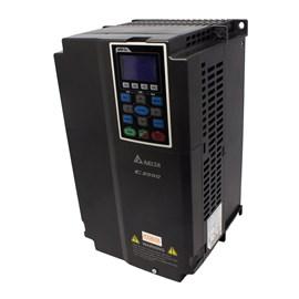 Inversor de Frequência Vetorial Trifásico VFD075C23A 220V 10HP Metaltex