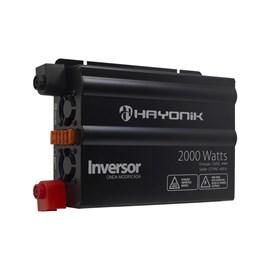 Inversor de Onda Modificada 2000W 12VDC/127V Hayonik