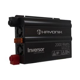 Inversor de Onda Modificada 2000W 12VDC/220V Hayonik