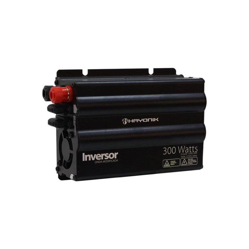 Inversor de Onda Modificada 300W 12VDC/127V Hayonik