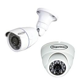 Kit de Monitoramento Multimax 4 Canais 2 Câmeras HD Segurimax