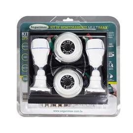 Kit de Monitoramento Multimax 4 Canais 4 Câmeras HD Segurimax