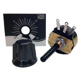 "Kit Remoto Potenciômetro 15 Segundos 1/4"" 40mm Digimec"