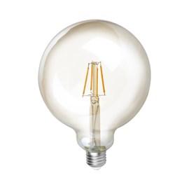 Lâmpada Balloon Filamento LED 4W Luz Âmbar Bivolt Save Energy