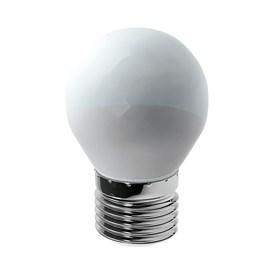 Lâmpada Bolinha LED 6W Luz Branco Quente Bivolt Luminatti