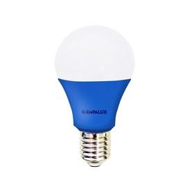 Lâmpada Bulbo LED 10W Luz Azul Bivolt E27 Empalux