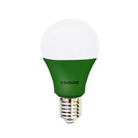Lâmpada Bulbo LED 10W Luz Verde Bivolt E27 Empalux