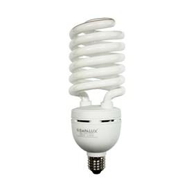 Lâmpada Espiral 59W 220V Luz Branco Frio Empalux