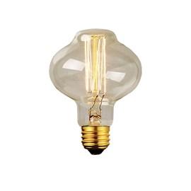 Lâmpada Filamento de Carbono LED 4E Luz Branco Quente Bivolt E27 Starlux