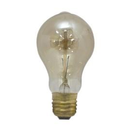 Lâmpada Filamento de Carbono Luz Âmbar A19 40W E27 127V Starlux