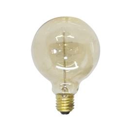 Lâmpada Filamento de Carbono Luz Âmbar G80 40W E27 127V Starlux