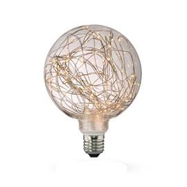 Lâmpada Globo Fio de Fada LED 4W Luz Âmbar Bivolt E27 Starlux