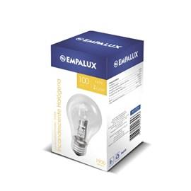 Lâmpada Halógena Bulbo A55 100W Luz Branco Quente 127V Empalux