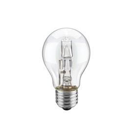 Lâmpada Halógena Bulbo A55 150W Luz Amarela 127V Ourolux