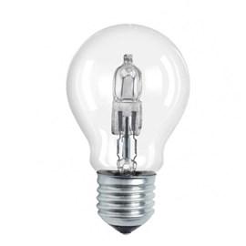 Lâmpada Halógena Bulbo A55 28W Luz Amarela 127V Taschibra
