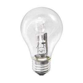 Lâmpada Halógena Bulbo A55 70W Luz Amarela 127V Empalux