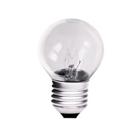 Lâmpada Incadescente Bolinha 15W para Fogão/Geladeira/Microondas Luz Branco Quente 127V E27 Empalux