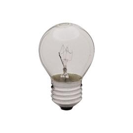 Lâmpada Incandescente Bolinha Transparente 40W Luz Amarela 220V E27 Empalux