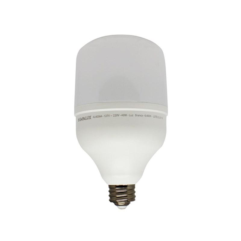 Lâmpada LED Alta Potência 40W Luz Branco Frio Bivolt E40 Empalux