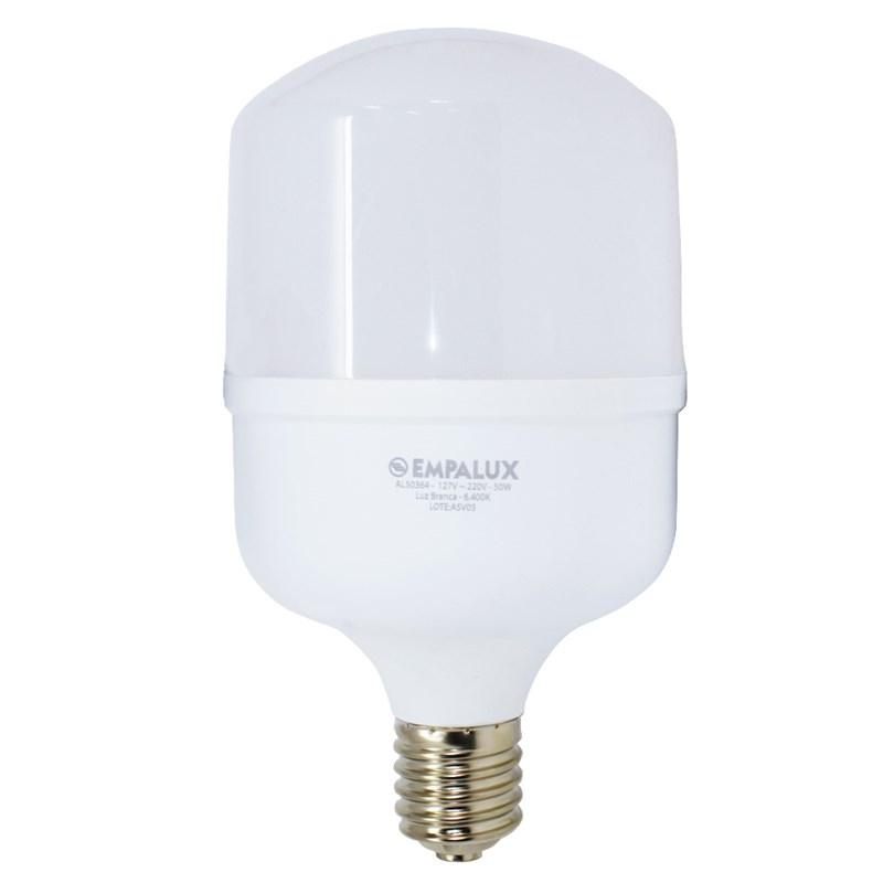 Lâmpada LED Alta Potência 50W Luz Branco Frio Bivolt E40 Empalux