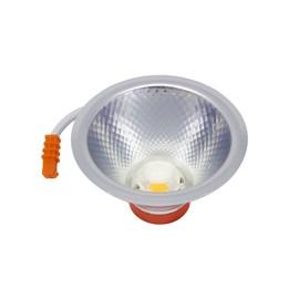 Lâmpada LED AR 70 7W com Driver Luz Branco Quente Bivolt Luminatti