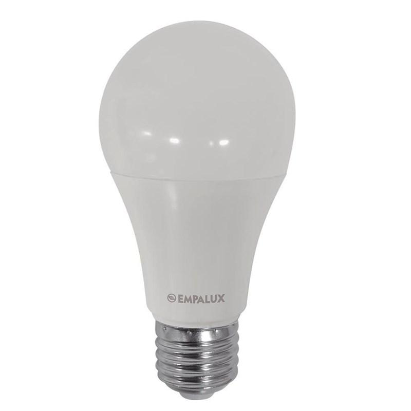 Lâmpada LED Bulbo 12W Luz Branco Frio Bivolt Empalux