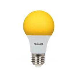 Lâmpada LED Bulbo 7W Luz Amarela Bivolt Foxlux