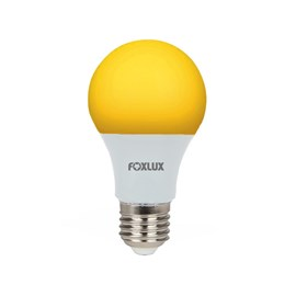 Lâmpada LED Bulbo 7W Luz Branco Quente Bivolt Foxlux