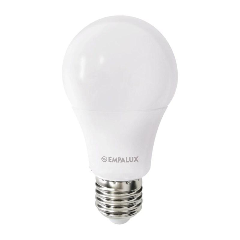 Lâmpada LED Bulbo 7W Luz Branco Quente Empalux